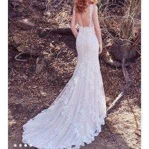 Wedding gown: Maggie Sottero Ramona Size 12